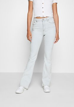 BDG Urban Outfitters - BLEACH FLARE JEAN - Flared Jeans - light blue