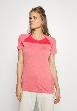 Icebreaker - MOTION SEAMLESS CREWE - T-Shirt basic - red