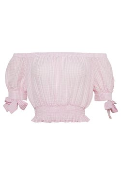 Nly by Nelly - SWEET STRUCTURE TOP - Bluse - pink