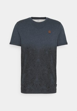 INDICODE JEANS - DAY JAPAN - T-Shirt print - navy mix