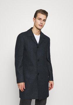 Tommy Hilfiger Tailored - HOUNDSTOOTH DESIGN OVERCOAT - Mantel - blue
