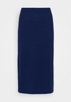 Filippa K - HONOR SKIRT - A-snit nederdel/ A-formede nederdele - marine blu