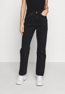 Weekday - ROWE ECHO - Jeans relaxed fit - black