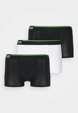 Diesel - DAMIEN 3 PACK - Panties - white/black/green