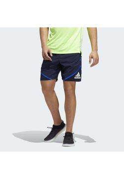 adidas Performance - PRIMEBLUE SHORTS - Pantalón corto de deporte - blue