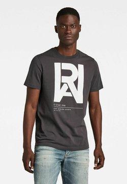 G-Star - GRAPHIC RAW - T-shirt print - raven