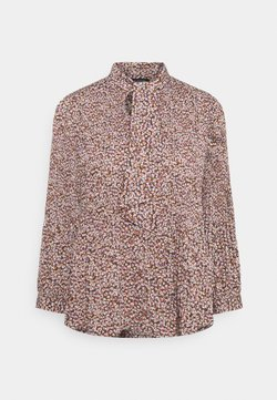 Selected Femme - SLFLISA POPPY - Bluse - cappuccino