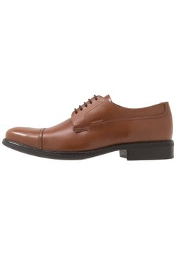 Geox - UOMO CARNABY - Lace-ups - browncotto