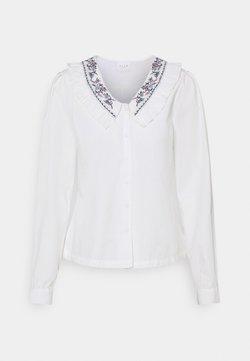 Vila - VIKAMILLA DETAILED COLLAR - Bluse - white