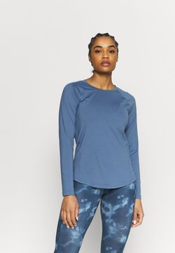Under Armour - RUSH - Funktionsshirt - mineral blue