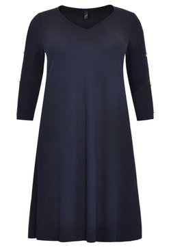 Yoek - WITH LONG SLEEVES - Freizeitkleid - blue