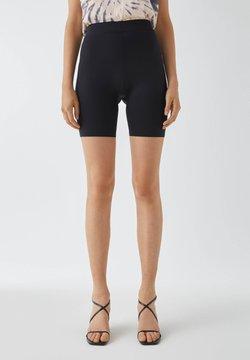 PULL&BEAR - Shorts - mottled black