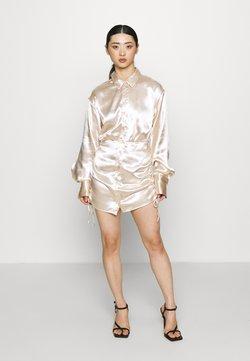 Gina Tricot Petite - SIDNEY SHIRT DRESS - Vestito elegante - sandshell