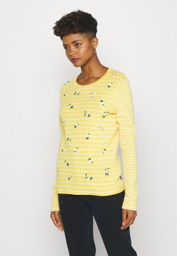 Superdry - STRIPE - Langarmshirt - yellow