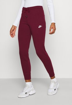 Nike Sportswear - PANT TIGHT - Jogginghose - dark beetroot/white