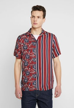 Burton Menswear London - SPLICE FLORAL - Skjorter - red