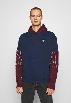 adidas Originals - SUMMER HOODY - Bluza z kapturem - conavy/maroon