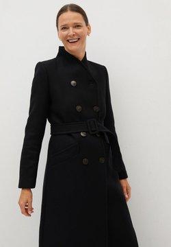 Mango - LUNA - Manteau classique - zwart