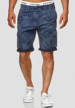 INDICODE JEANS - ALBERT - Shorts - blue