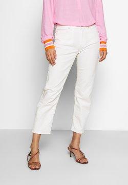 Marc O'Polo - HIGH WAIST CROPPED LENGTH - Jeans a sigaretta - soft white