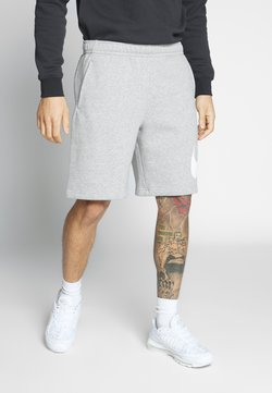 Nike Sportswear - CLUB - Shorts - grey heather/white