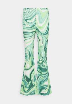 HOSBJERG - VILMA PALOMA PANTS - Trousers - green liquid