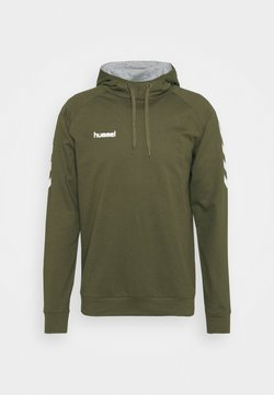 Hummel - GO HOODIE - Jersey con capucha - grape leaf