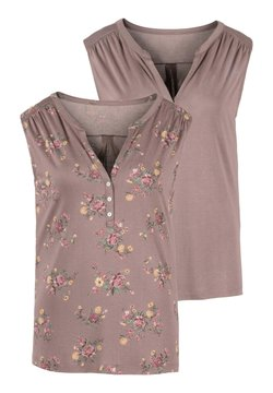 LASCANA - 2 PACK - Top - taupe