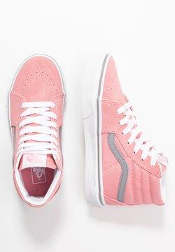 Vans - SK8 UNISEX - Sneakersy wysokie - pop pink icing/frost gray