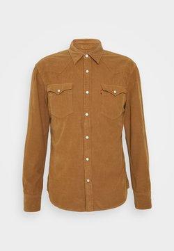 Levi's® - BARSTOW WESTERN SLIM - Hemd - garment dye cord toasted coconut
