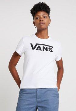 Vans - FLYING V CREW TEE SHORT SLEEVE - Camiseta estampada - white