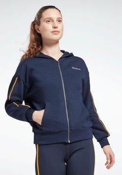 Reebok - Felpa con zip - blue
