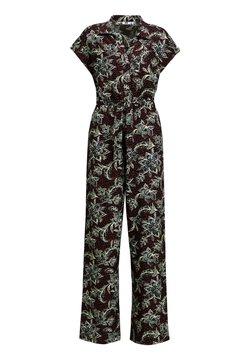 WE Fashion - Jumpsuit - burgundy red