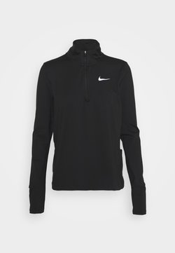 Nike Performance - ELEMENT - Funktionsshirt - black/reflective silver