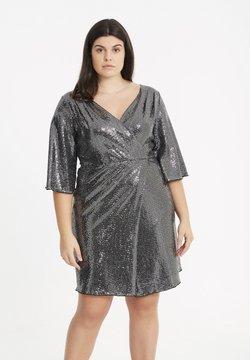 SPG Woman - MIT PAILLETTEN - Cocktailkleid/festliches Kleid - silver