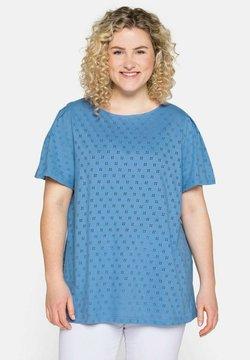 Sheego - Bluse - jeansblau