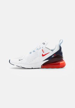 Nike Sportswear - AIR MAX - Sneakers laag - white/chile red-midnight navy-psychic blue-challenge red-mtlc silver