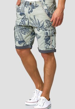 INDICODE JEANS - ALBERT - Shorts - turquoise