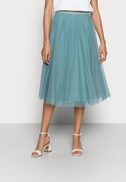 Esprit Collection - SKIRT - A-Linien-Rock - dark turquoise