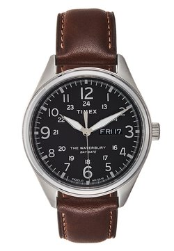Timex - WATERBURY TRADITIONAL DAY DATE - Montre - brown/silver-coloured/black