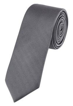 Next - SLIM  - Krawatte - grey