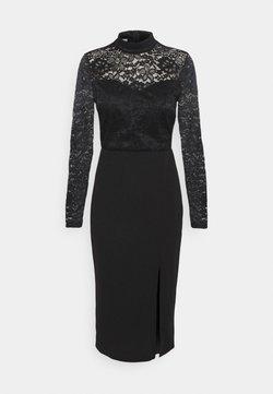 WAL G. - HIGH NECK DRESS - Robe de soirée - black
