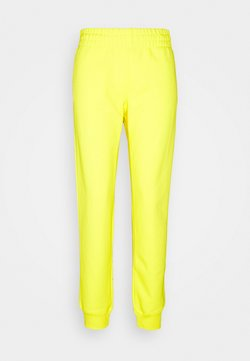 MOSCHINO - TROUSERS - Jogginghose - yellow