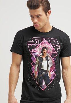 LOGOSHIRT - STAR WARS - HAN SOLO - T-Shirt print - black