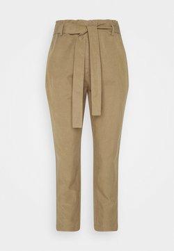 Marc O'Polo - WOVEN PANTS - Spodnie materiałowe - sandy beach