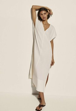Massimo Dutti - Korte jurk - beige
