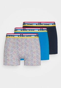 Ellesse - MENS PRINTED STRIPED 3 PACK - Panty - blue/grey