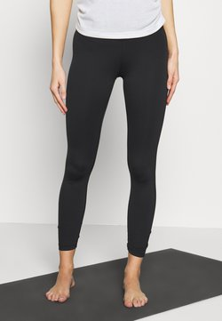 Nike Performance - YOGA RUCHE 7/8 - Leggings - black/smoke grey