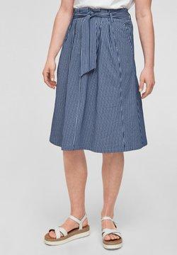 s.Oliver - A-Linien-Rock - dark blue stripes