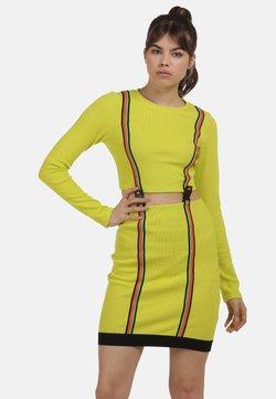 myMo ATHLSR - Freizeitkleid - neon gelb